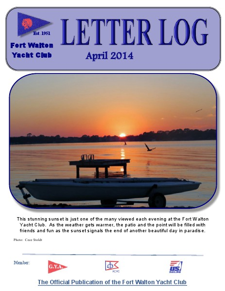FWYC Letter Log April 2014