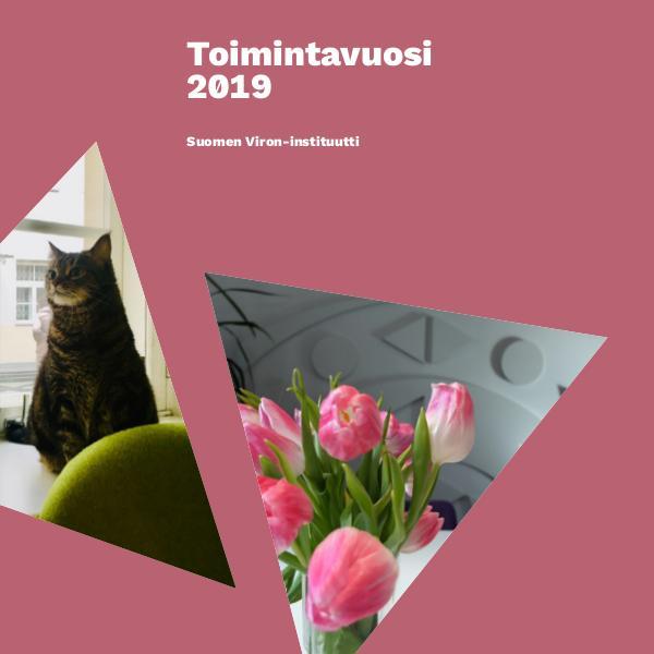 Suomen Viron-instituutin vuosikertomus 2019