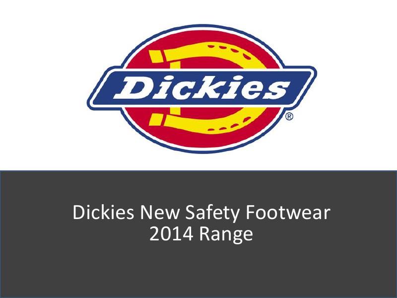 Dickies New Safety Footwear vol 1