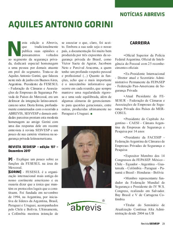 Revista ABREVIS Ed. 140