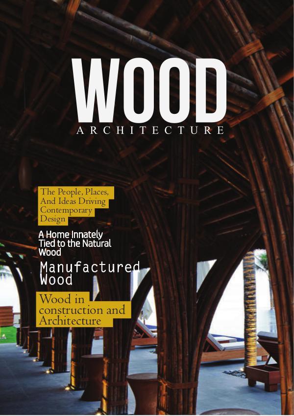 Publication Magazine Volume 2 Wood Architecture
