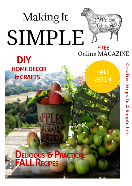 Creative Steps to a Siimple Life FALL Issue 2014