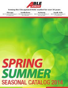 Able Distributor Summer Catalog 2014