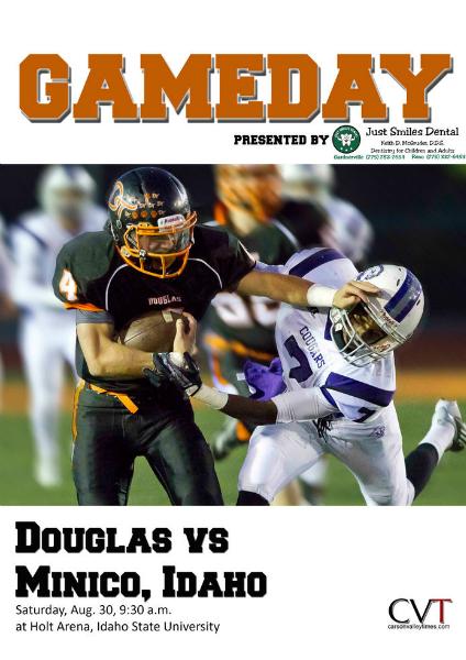 Douglas High Gameday Douglas vs. Minico, Aug. 30