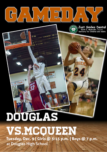 Douglas High Gameday Douglas vs. McQueen, Dec. 9