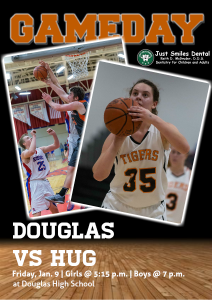Douglas High Gameday Douglas vs. Hug, Jan. 9