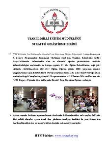 Uşak İl Milli Eğitim Müdürlüğü Strateji Geliştirme Birimi