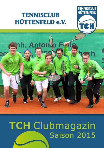 Clubmagazin 2015 - TC Huettenfeld e.V.