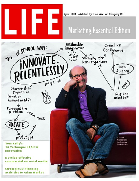 Life Magazine: Marketing Essential Edition April. 2014