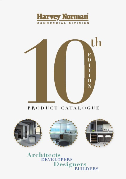 Harvey Norman Commercial Division Product Catalogue 10th Edition Catalogue