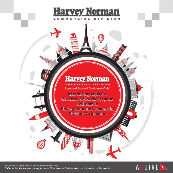 Harvey Norman Commercial Qantas Business Rewards Program Brochure