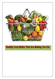 Healthy Food Myths Busted