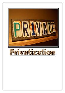 How Privatization Works