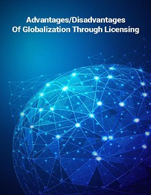Advantages and Disadvantages of Globalization via licensing