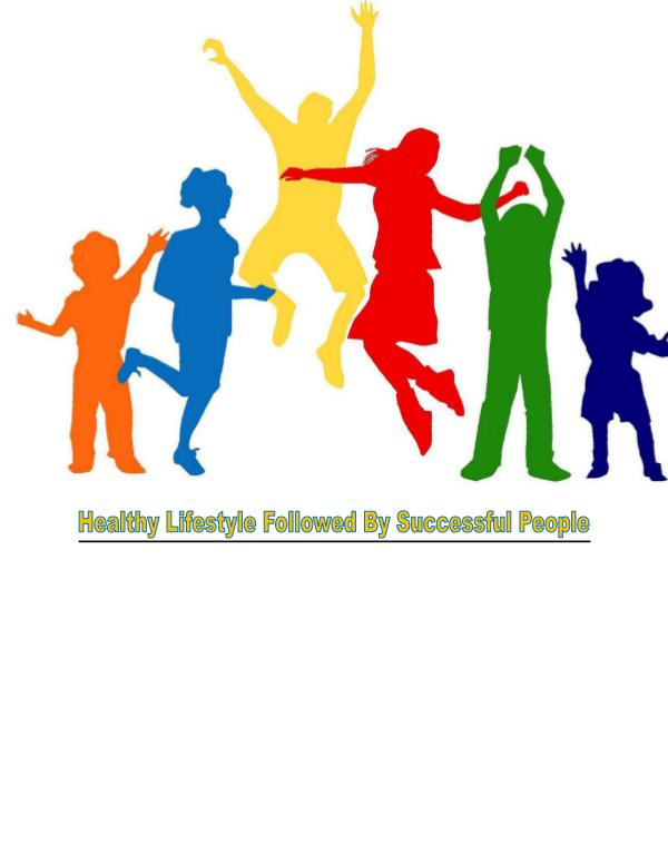 Healthy Routine Successful Life 1