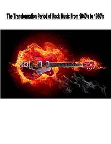 Transformation of Rock Music