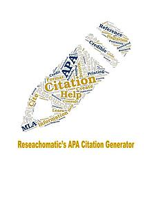 Researchomatic's Online Citataion Generator