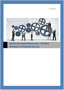 Crowdsourcing- A New Problem Solving Approach