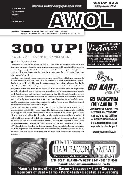 Issue 300 19th September