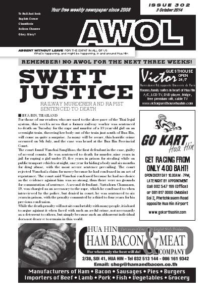 Issue 302 3rd October