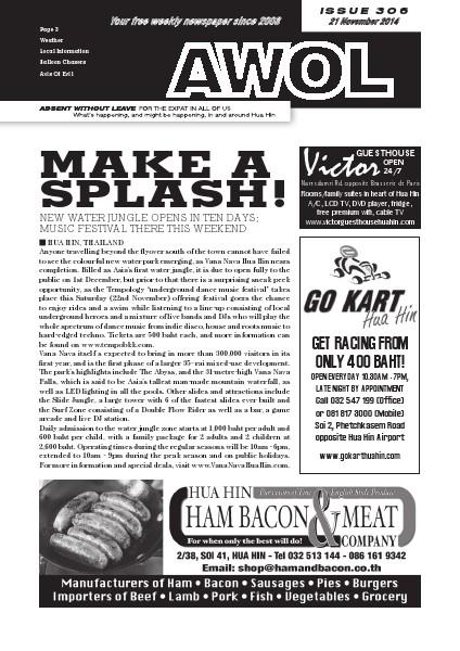 Issue 306 21st November