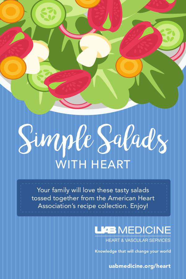 UAB Heart Healthy Recipes - Salad Edition