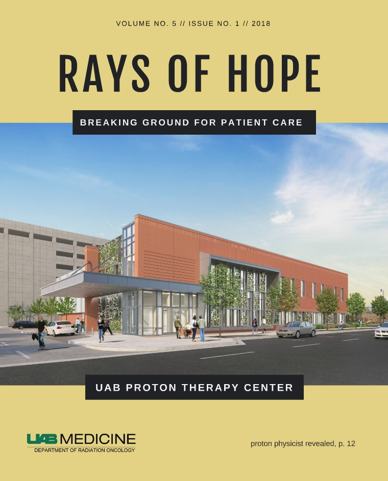 UAB Radiation Oncology, Rays of Hope Volume 5 issue 1
