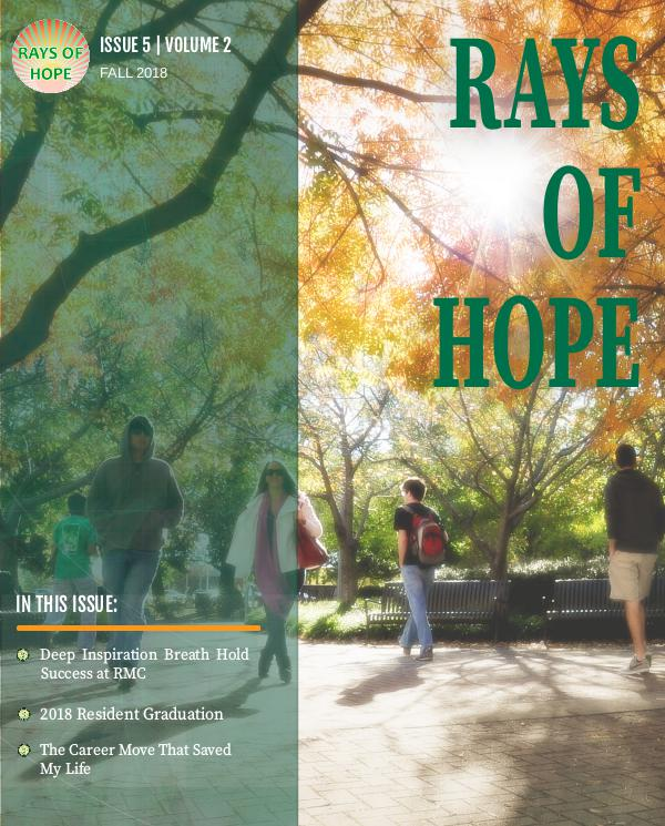 UAB Radiation Oncology, Rays of Hope Volume 5 Issue 2