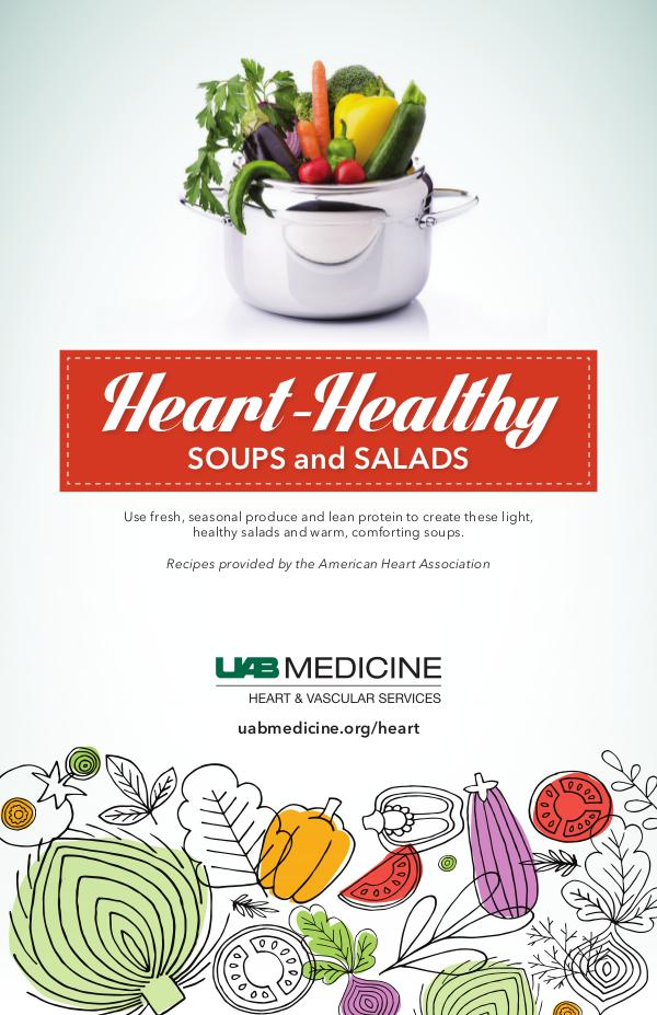 Heart-Healthy Soups and Salads Heart Month 2019-Recipe Book