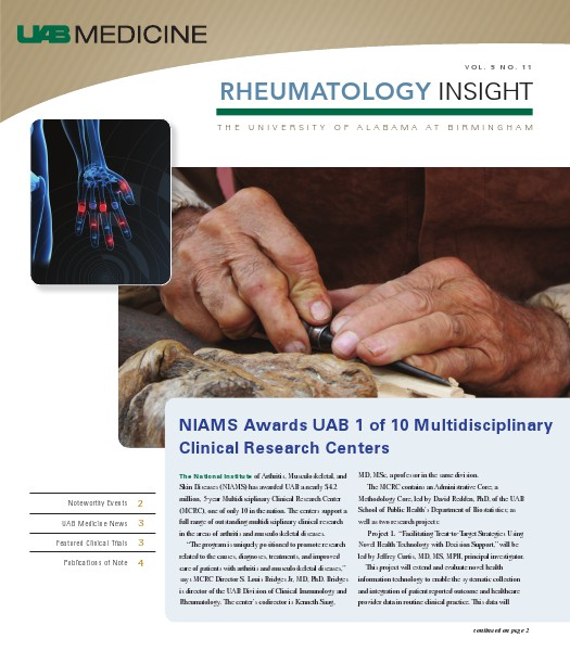 UAB Insight Rheumatology Volume - 5