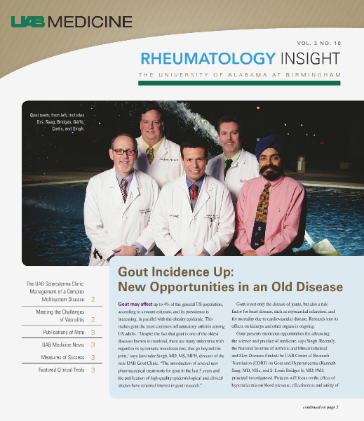 UAB Insight Rheumatology Volume 3