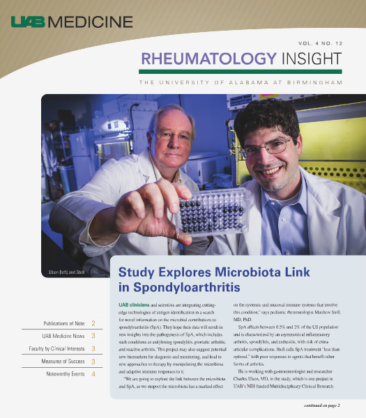 UAB Insight Rheumatology Volume 4
