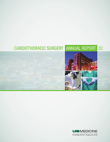 UAB Cardiothoracic Surgery Annual Report 2015-16