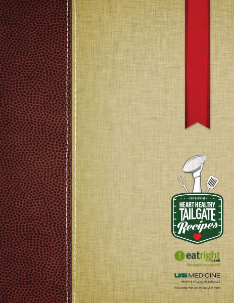 UAB Heart Healthy Tailgate Recipe Book