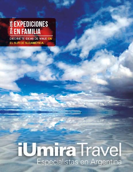 SUDAMÉRICA IUMIRA TRAVEL 2014-2015 ENERO 2014