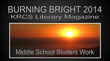 LITERARY MAGAZINE 2014 KRCS MS