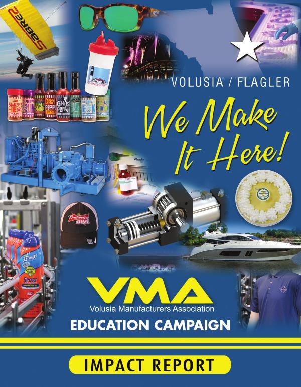 Volusia Manufacturers Association Impact Report 2017
