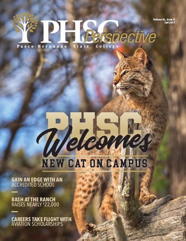 Pasco-Hernando State College Volume XL, Issue II - Fall 2017