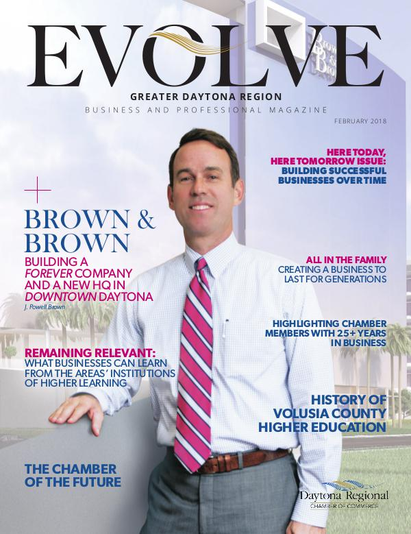 EVOLVE Business and Professional Magazine February 2018
