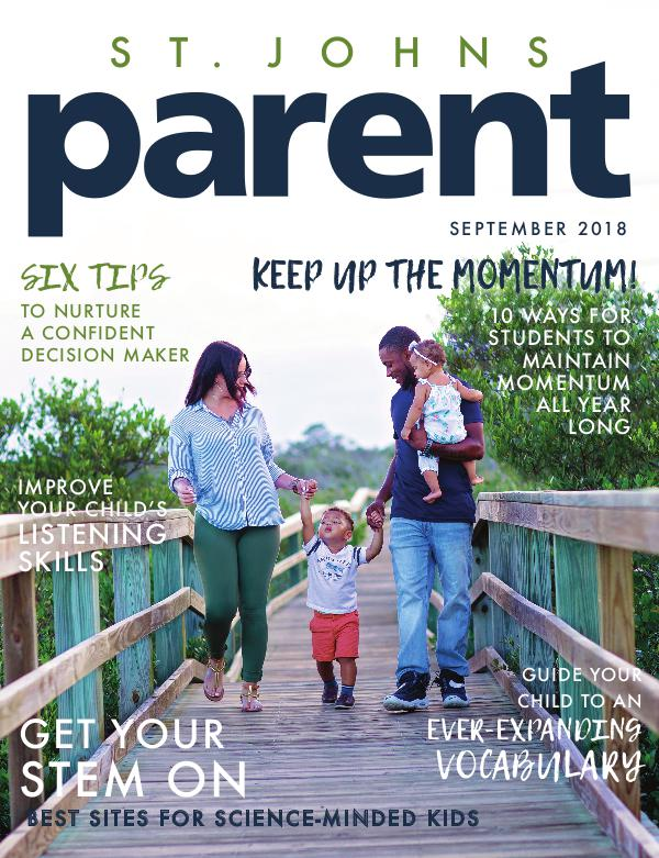 Parent Magazine St. Johns September 2018