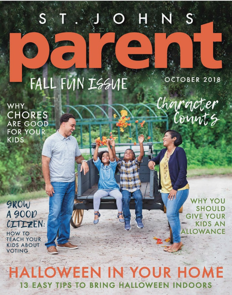 Parent Magazine St. Johns October 2018