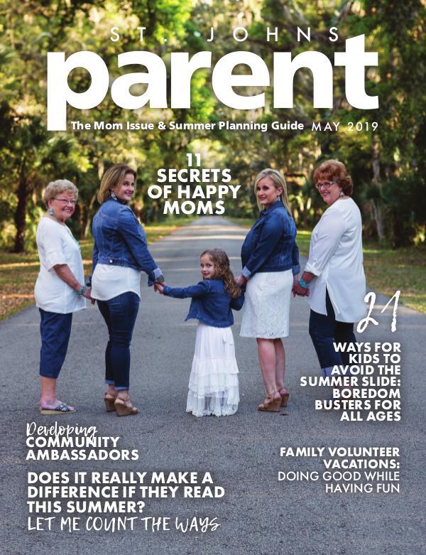Parent Magazine St. Johns May 2019