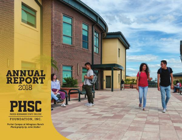 Pasco-Hernando State College Annual Report 2018