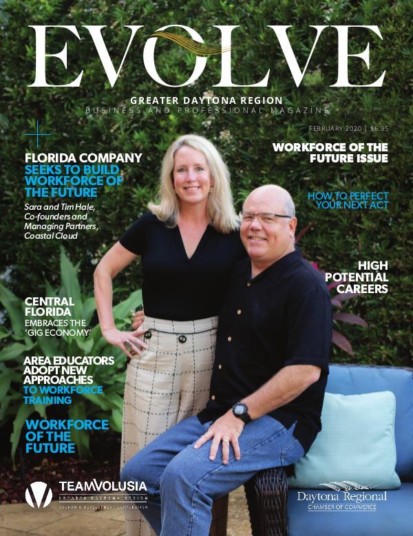 EVOLVE Business and Professional Magazine February 2020