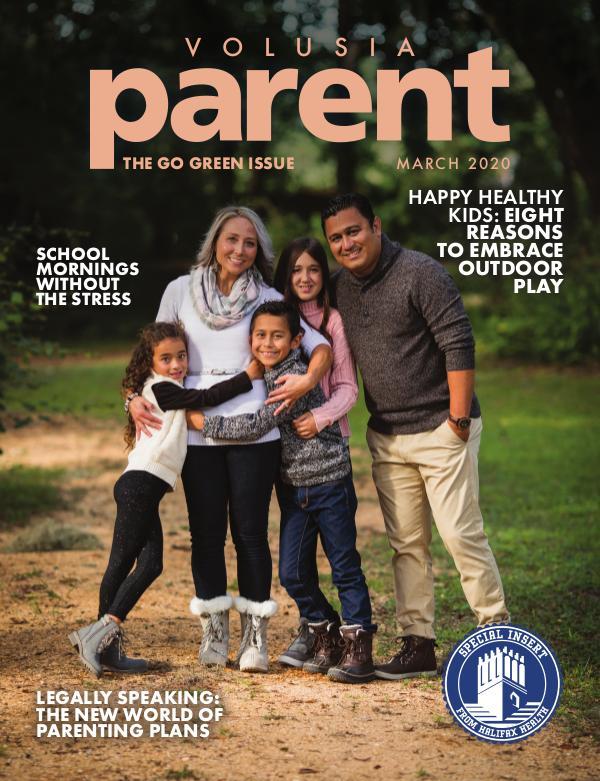 Parent Magazine Volusia March 2020