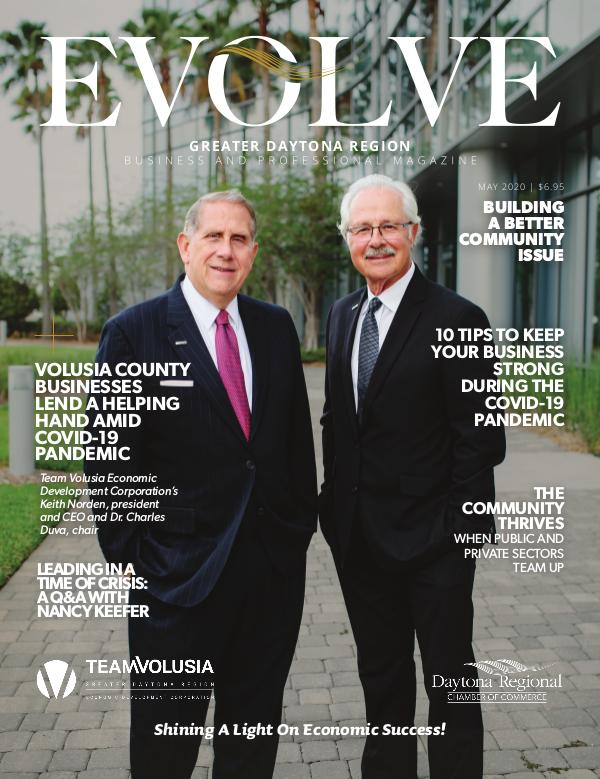 EVOLVE Business and Professional Magazine May 2020