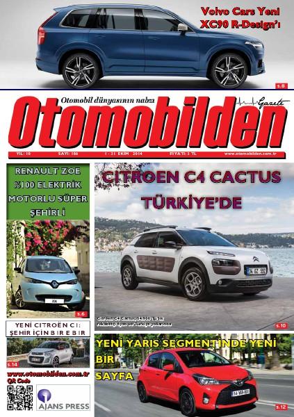 Otomobilden Dergisi 1-31 Ekim 2014