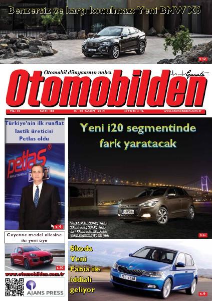 Otomobilden Dergisi 15-30 Kasım 2014