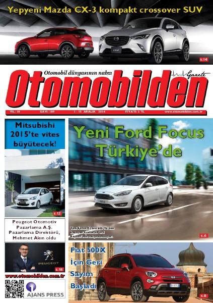 Otomobilden Dergisi 1-15 Aralık 2014