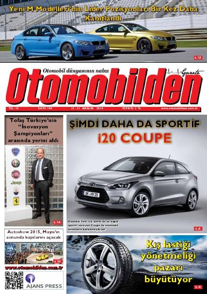 Otomobilden Dergisi 15-31 Aralık 2014